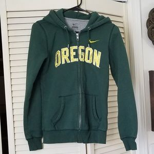 NIKE Oregon Duck Green/Yellow/White Hoodie